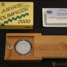 Monedas Juan Carlos I: ESTUCHE FNMT - JUEGOS OLÍMPICOS SYDNEY 2000 - AÑO 1999 - 1000 PESETAS - PLATA 925 - FDC/PROOF. Lote 41336213