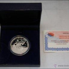 Monedas Juan Carlos I: ESTUCHE FNMT - AVENTURA DE LOS MOLINOS DE VIENTO - AÑO 2005 - 10 EUROS - PLATA 925 - FDC/PROOF. Lote 41336316