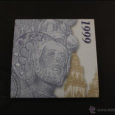 Monedas Juan Carlos I: ESTUCHE OFICIAL FNMT - XACOBEO 1999 - 2000 PTAS. - PLATA 925 MILÉSIMAS - FDC/PROOF. Lote 41339174