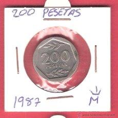 Monedas Juan Carlos I: 200 PESETAS 1987.. Lote 41369417