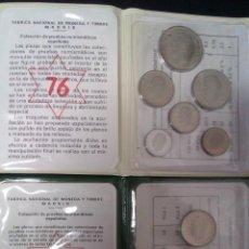 Monedas Juan Carlos I: 2 CARTERAS PRUEBAS NUMISMATICAS CON ESTRELLAS CONSECUTIVAS IDEAL EMPEZAR COLECCION O COMPLETARLA. Lote 41627514