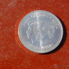 Monedas Juan Carlos I: 2000 PESETAS DE PLATA FELIPE Y LETIZIA. Lote 41637000