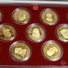 Monedas Juan Carlos I: ARRAS REALES.V CENTENARIO CASA DE BORBON - III DE LOS BORBONES. PLATA Y BAÑO ORO. INCLUYE ESTUCHE.. Lote 50299907