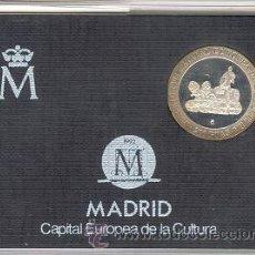 Monedas Juan Carlos I: 200 PESETAS PLATA 1992 FDC MADRID CAPITAL EUROPEA DE LA CULTURA + CERTIFIC. FNMT . Lote 42614285