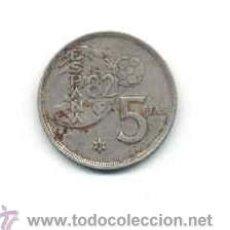 Monedas Juan Carlos I: MONEDA . 5 PESETAS 1980 . ESPAÑA 82. Lote 42829254