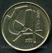 ESPAÑA 5 PESETAS DE 1991 Nº3 (Numismática - España Modernas y Contemporáneas - Juan Carlos I)