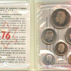 Monedas Juan Carlos I: ESPAÑA : CARTERA OFICIAL FNMT ESPAÑA 1976 PROFF REY JUAN CARLOS I *NUMISBUR*. Lote 53451472