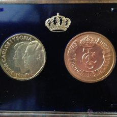 Monedas Juan Carlos I: XXV ANIVERSARIO DEMLA BODA DE S.S.M.M LOS REYES DE ESPAÑA D.JUAN CARLOS 1 Y Dª SOFIA PRUEBAS. Lote 45351308