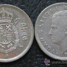 Monedas Juan Carlos I: MONEDA 5 PESETAS JUAN CARLOS I - 1975 * 79. Lote 46150957