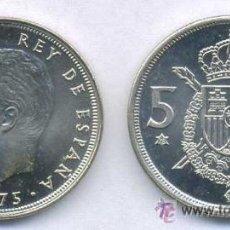 Monedas Juan Carlos I: MONEDA 5 PESETAS JUAN CARLOS I - 1975 * 78. Lote 46151368