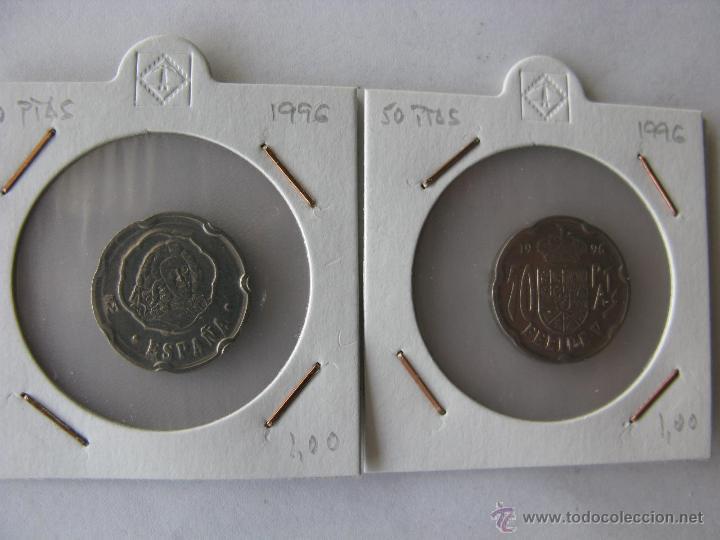 MONEDA/MONEDAS 50 PESETAS. FELIPE V. 1996 (Numismática - España Modernas y Contemporáneas - Juan Carlos I)