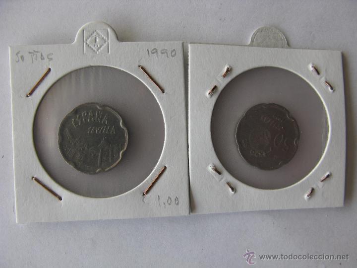 MONEDA/MONEDAS 50 PESETAS EXPO 92 SEVILLA. 1990 (Numismática - España Modernas y Contemporáneas - Juan Carlos I)