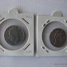 Monedas Juan Carlos I: MONEDA/MONEDAS 2 PESETAS 1984. JUAN CARLOS I REY DE ESPAÑA.. Lote 49791584