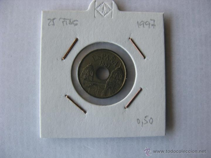 MONEDA/MONEDAS 25 PESETAS 1997. ESPAÑA. (Numismática - España Modernas y Contemporáneas - Juan Carlos I)