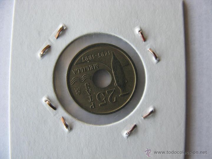 Monedas Juan Carlos I: moneda/monedas 25 pesetas 1997. españa. - Foto 2 - 46461350