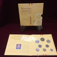 Monedas Juan Carlos I: CARTERA OFICIAL FNMT 1998 -PESETAS-. Lote 114541990