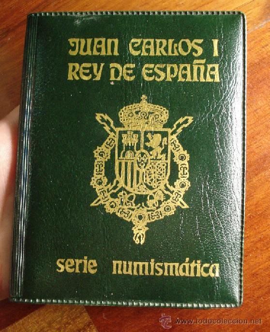 SERIE NUMISMATICA JUAN CARLOS I REY DE ESPAÑA AÑO 1982 CARTERA ORIGINAL Y MODELO ESCASO (Numismática - España Modernas y Contemporáneas - Juan Carlos I)