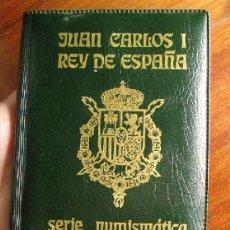 Monedas Juan Carlos I: SERIE NUMISMATICA JUAN CARLOS I REY DE ESPAÑA AÑO 1982 CARTERA ORIGINAL Y MODELO ESCASO. Lote 46590393