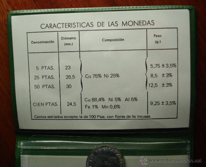 Monedas Juan Carlos I: SERIE NUMISMATICA JUAN CARLOS I REY DE ESPAÑA AÑO 1982 CARTERA ORIGINAL Y MODELO ESCASO - Foto 2 - 46590393
