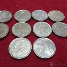 Monedas Juan Carlos I: 10 MONEDAS DE 5 PESETAS JUAN CARLOS I DISTINTOS AÑOS. Lote 46599973