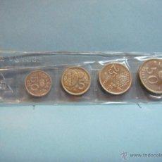 Monedas Juan Carlos I: BLISTER ESPAÑA 82 CON 4 MONEDAS DEL MUNDIAL DE ESPAÑA 1982. 50, 25, 5 PESETAS Y 50 CÉNTIMOS. 1980. Lote 47069216