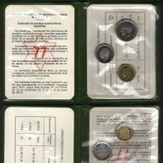 Monedas Juan Carlos I: ESPAÑA CARTERA DE MONEDAS DE 1975 CON ESTRELLA * 77 PROOF. Lote 47307215
