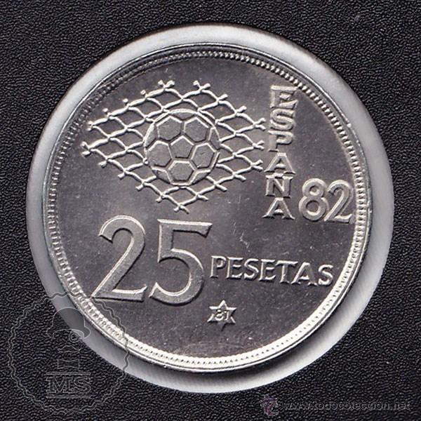 Monedas Juan Carlos I: Moneda 25 Pesetas / Pts - Juan Carlos I. Año 1980 *81 - Conservación SC - Foto 2 - 48030197