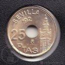 Monedas Juan Carlos I: MONEDA 25 PESETAS / PTS - JUAN CARLOS I. AÑO 1992 - GIRALDA - CONSERVACIÓN SC. Lote 99118287