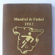 Monedas Juan Carlos I: CARTERA DE MONEDAS DEL MUNDIAL DE FUTBOL ESPAÑA 82. Lote 48440016