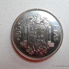 Monedas Juan Carlos I: **** MONEDA DE 100 PESETAS (CIEN PESETAS) - JUAN CARLOS I - ESPAÑA 1975 *76 - SC - F/61. Lote 48838770