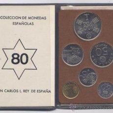 Monedas Juan Carlos I: CARTERA DE MONEDAS DEL MUNDIAL 1982. Lote 26835727