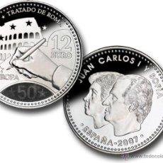 Monedas Juan Carlos I: ESPAÑA 12 EURO PLATA 2007 TRATADO DE ROMA 50 ANIVERSARIO *NUMISBUR*. Lote 49145071