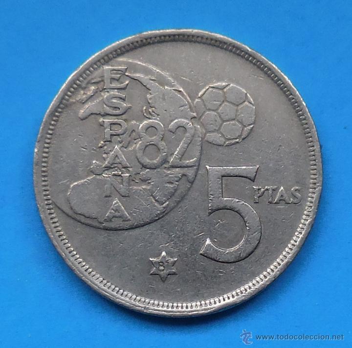 MUNDIAL 82. MONEDA DE 5 PESETAS. 1980 *81 (Numismática - España Modernas y Contemporáneas - Juan Carlos I)