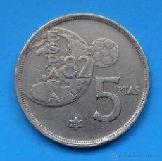 Monedas Juan Carlos I: MUNDIAL 82. MONEDA DE 5 PESETAS. 1980 *81. Lote 49164751