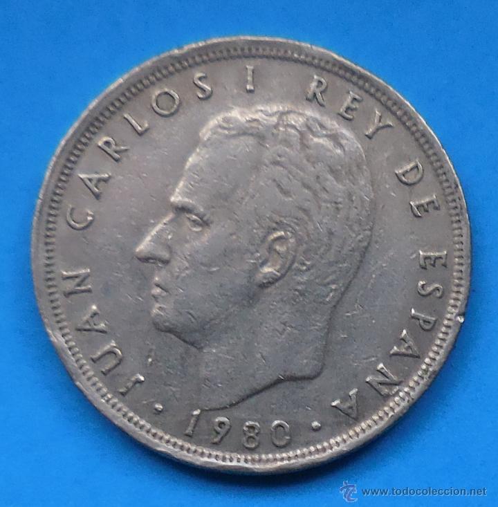 Monedas Juan Carlos I: MUNDIAL 82. MONEDA DE 5 PESETAS. 1980 *81 - Foto 2 - 49164751