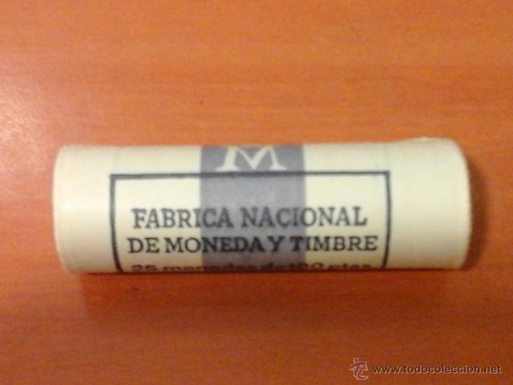 CARTUCHO 25 MONEDAS F.N.M.T. 100 PTS PESETAS 1988 COMPLETO SIN CIRCULAR (Numismática - España Modernas y Contemporáneas - Juan Carlos I)