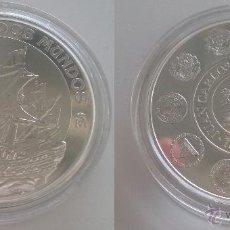 Monedas Juan Carlos I: 10 EUROS 2002 ESPAÑA ENCUENTRO DOS MUNDOS, V SERIE IBEROAMERICANA, LA NAUTICA, ESCASA. Lote 25656904