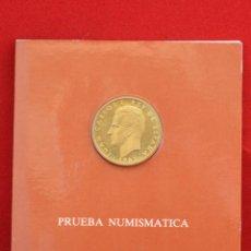 Monedas Juan Carlos I: CARTERA PRESENTACION PUEBA NUMISMATICA 100 PESETAS 1982 PROOF LIS ABAJO JUAN CARLOS I. Lote 50822671