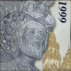 Monedas Juan Carlos I: MONEDA PLATA 2000 PTAS. XACOBEO '99 EN ESTUCHE FNMT - NUMERO 12068. Lote 51085808