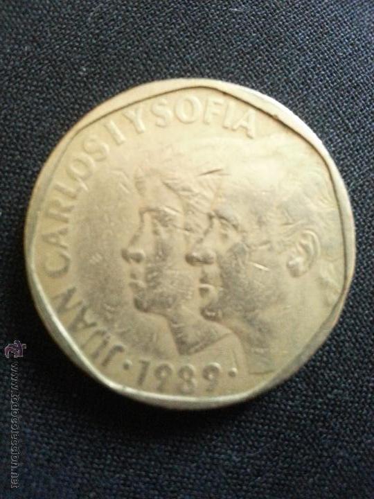 Moneda 500 Pesetas Juan Carlos I Y Sofia 1989 E Comprar