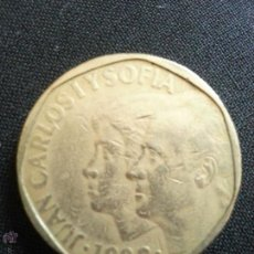 Monedas Juan Carlos I: MONEDA 500 PESETAS JUAN CARLOS I Y SOFIA 1989 ESPAÑA. Lote 51105672