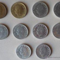 Monedas Juan Carlos I: COLECCION DE MONEDAS DE 1 PTA. DE JUAN CARLOS I. Lote 51135506
