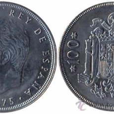 Monedas Juan Carlos I: MONEDA 100 PESETAS-1976*19*76*-JUAN CARLOS I MODULO GRANDE. Lote 253938890