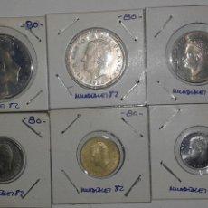 Monedas Juan Carlos I: MUNDIALES '82. COLECCION COMPLETA PESETAS 1980 *80. Lote 51626523