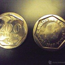 Monedas Juan Carlos I: MONEDA 200 PESETAS 1987. S/C.CARTUCHO FNMT. PTAS. JUAN CARLOS I . Lote 114700040