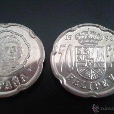 Monedas Juan Carlos I: MONEDA 50 PESETAS JUAN CARLOS I 1996 SC DE BOLSA.PTAS FELIPE V . Lote 108965374