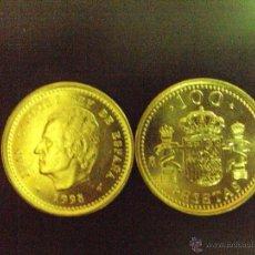 Monedas Juan Carlos I: MONEDA 100 PESETAS JUAN CARLOS I 1998 SC DE BOLSA FNMT.PTAS. NUEVA. Lote 108965938