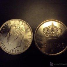 Monedas Juan Carlos I: MONEDA 25 PESETAS 1982 JUAN CARLOS I.S/C.SACADA CARTUCHO . Lote 107365128