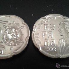 Monedas Juan Carlos I: MONEDA 50 PESETAS JUAN CARLOS I 1998 SC DE BOLSA.PTAS. Lote 108965903