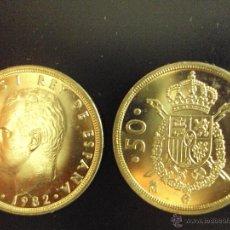 Monedas Juan Carlos I: MONEDA 50 PESETAS JUAN CARLOS I 1982 SC DE CARTUCHO.PTAS. Lote 108965151